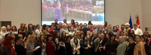 Одесситки отметили столетие избирательных прав женщин