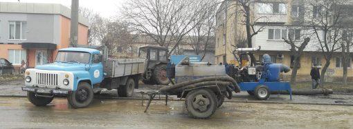 Возобновлена подача воды в три района города