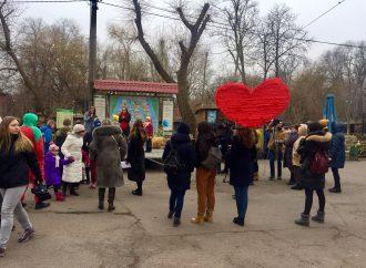 В Одесском зоопарке выбрали пару года и устроили праздник для влюблённых и детей
