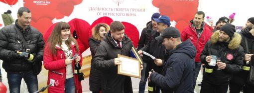 Ко Дню Святого Валентина в Одессе приурочили новый рекорд