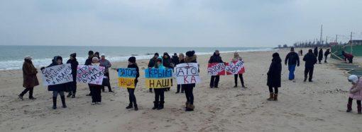 Жители Затоки перекрывали трассу «Одесса – Белгород-Днестровский»