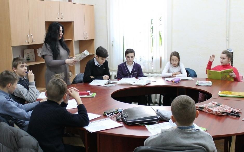 Учебный Центр «Люстдорф», занятие