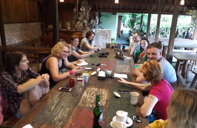 Одесский Бабелевский конкурс презентовали в литературном клубе на Бали