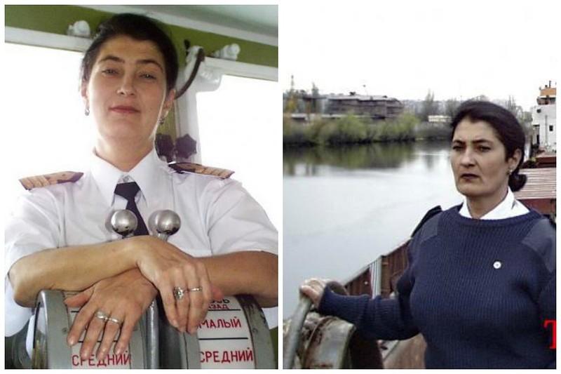 женщина капитан