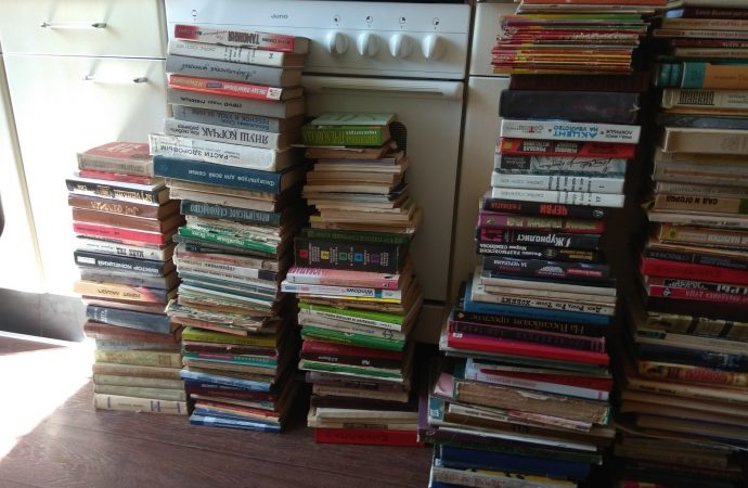 Куда в Одессе можно сдать книги?