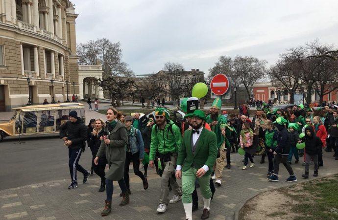 Как в Одессе День святого Патрика отмечают