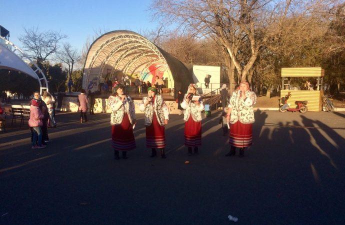 Одесситы отгуляли Масленицу в парке Шевченко
