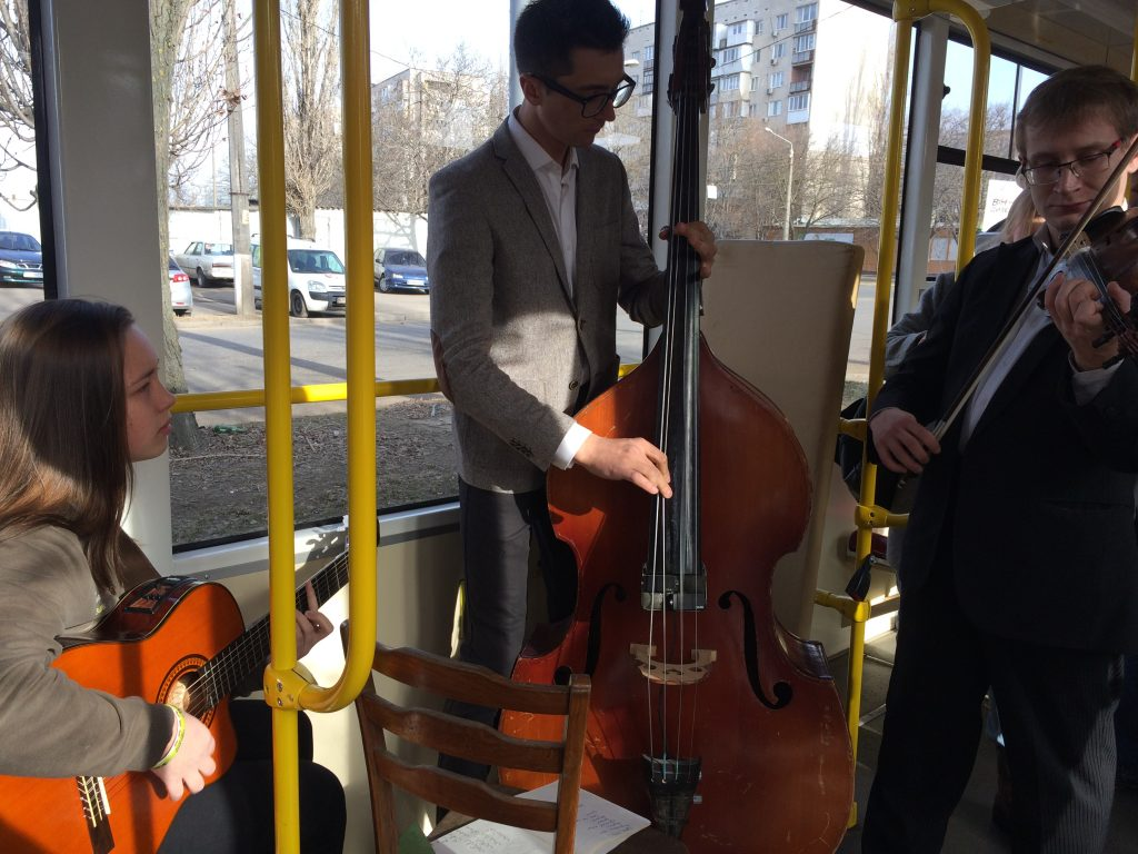 одесский трамвай 8 марта