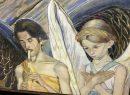 """Осенью прошлого года известный в Одессе коллекционер украинского искусства и всего, что с ним связано Тарас Максимюк, предложил передать в дар свое собрание Одесскому художественному музею. А это, ни много ни мало несколько тысяч предметов. Среди них – иконы, картины, рукописи, рисунки и книги, начиная с 1834 года. И тут руководство ОХМ оказалось в том положении, когда и """"хочется и колется"""" – увы, здание музея, построенное в 1828 году не может вместить в свои хранилища этот дар. Поэтому для начала решили демонстрировать части коллекций, и начали с собрания работ украинского классика Михаила Жука – писателя, драматурга, художника-иллюстратора. На стенах – рисунки, литографии, обложки книг Жука. А в отдельном зале – одна из жемчужин украинского модерна, панно """"Белое и черное"""". Оно выполнено на грубой бумаге несколькими техниками одновременно. Юноша, изображенный на панно – еще один украинский классик, юный Павло Тычина, а девушка – его возлюбленная. Вторая часть выставки представлена произведениями декоративно-прикладного искусства из фондов музея. И опять таки, оказывается, в недрах музея прячутся настоящие сокровища – более тысячи экспонатов как неизвестных авторов, так и мастеров с мировым именем, например, пять работ Марии Приймаченко. Третья """"страница"""" – постмодернистский проект """"Квантовый прыжок Шевченко"""". Тут представлены попытки взглянуть на десятилетиями сложившийся образ по-новому и зафиксировать современные популярные культурные образы. При этом авторы напоминают, что Шевченко, это не застывший в веках экспонат, забальзамированный когда-то идеологами, а творческий человек и авантюрист. Справка: Одесский художественный музей был основан 120 лет тому назад. При основании его коллекция составляла 700 экспонатов. Сегодня количество экспонатов превышает 10000 единиц. Еще с середины 80-х музей начал ощущать нехватку площади, но сейчас, по словам руководства, эта проблема стала критической."""