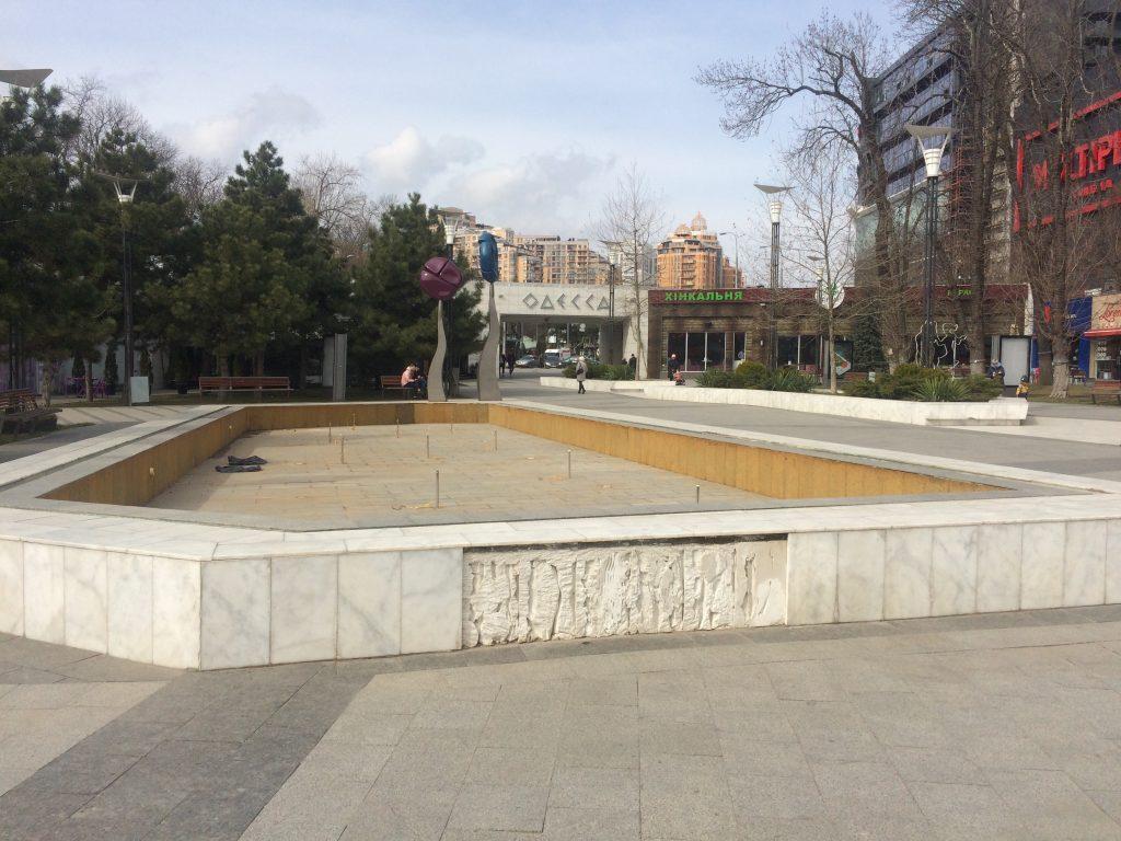 фонтан в аркадии