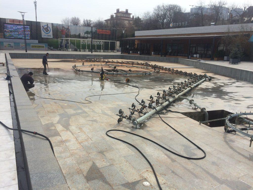 фонтан аркадия