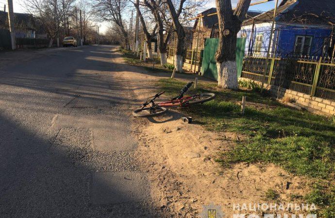 Полиция разыскивает водителя, который сбил мальчика-велосипедиста и уехал