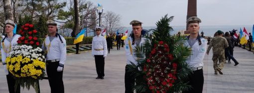 Одесса отмечает 75-летие освобождения от нацистов во время Второй мировой войны
