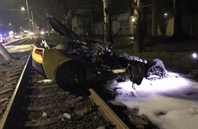 Жуткая авария на Пересыпи: водитель жив
