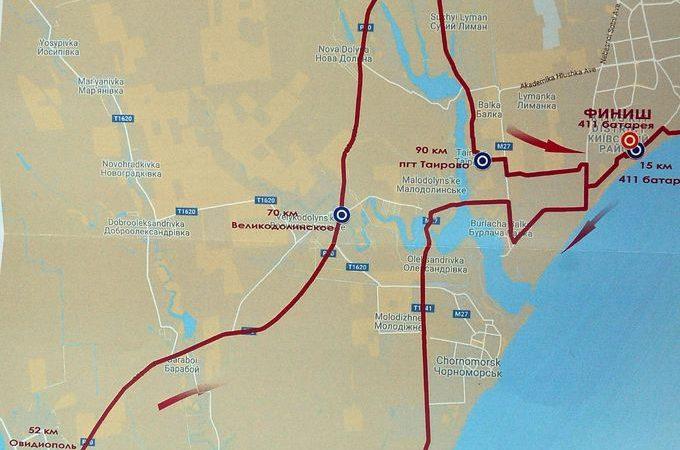 маршрут велосотки