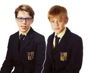Даниель и Марат – учащиеся лондонской школы Fulhamschool