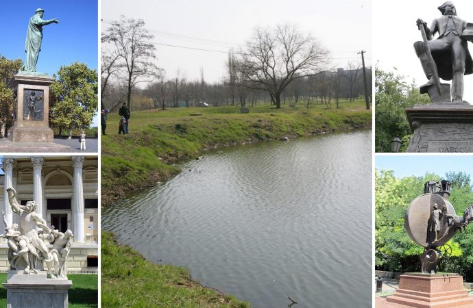 Одесские памятники перенесут в парк Савицкого уже сегодня вечером