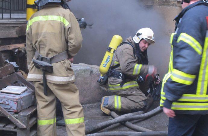 Пожар на Тираспольской: есть пострадавшие