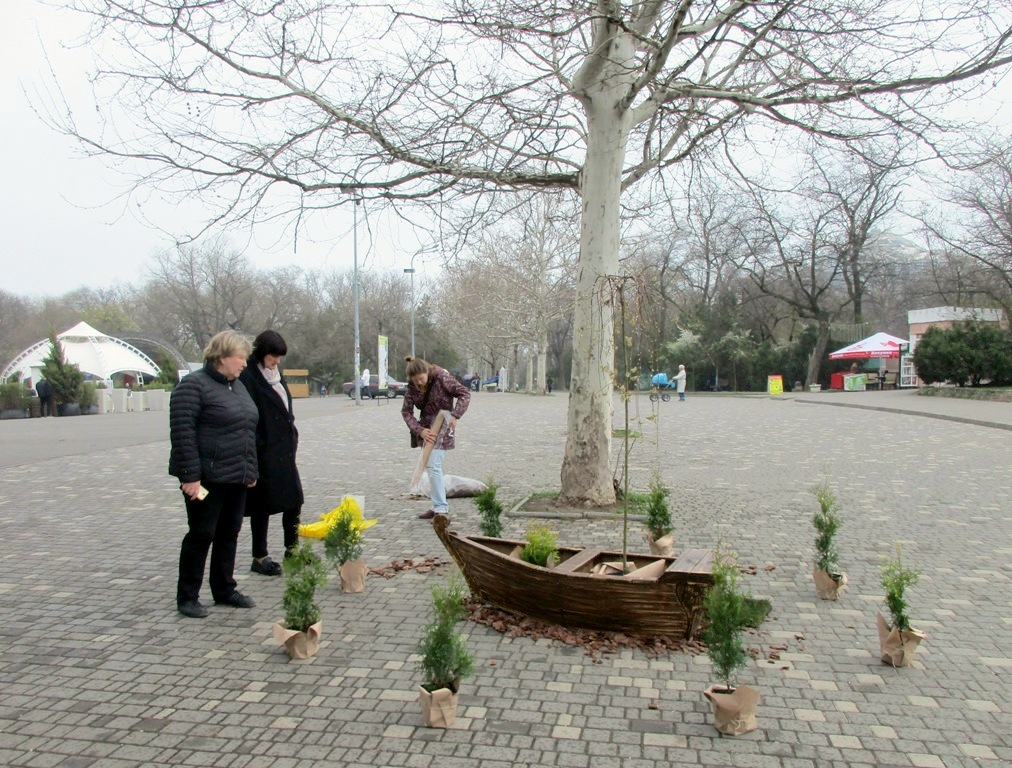 фестиваль садово-парковой культуры в парке Шевченко