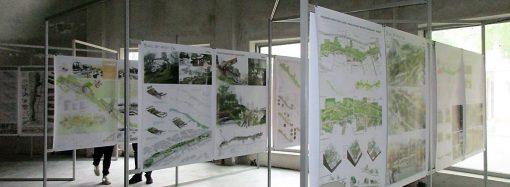 Одесситы могут изучить все эскизные проекты преобразования склонов Бульвара Жванецкого