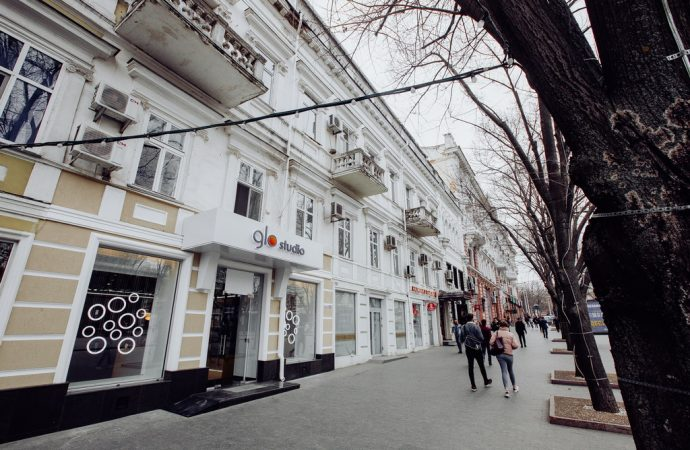 glo™ studio на Дерибасовской в Одессе
