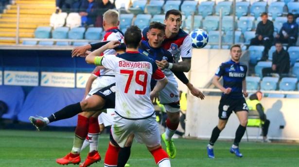 Снова поражение: «Черноморец» в домашнем матче проиграл киевскому «Арсеналу»