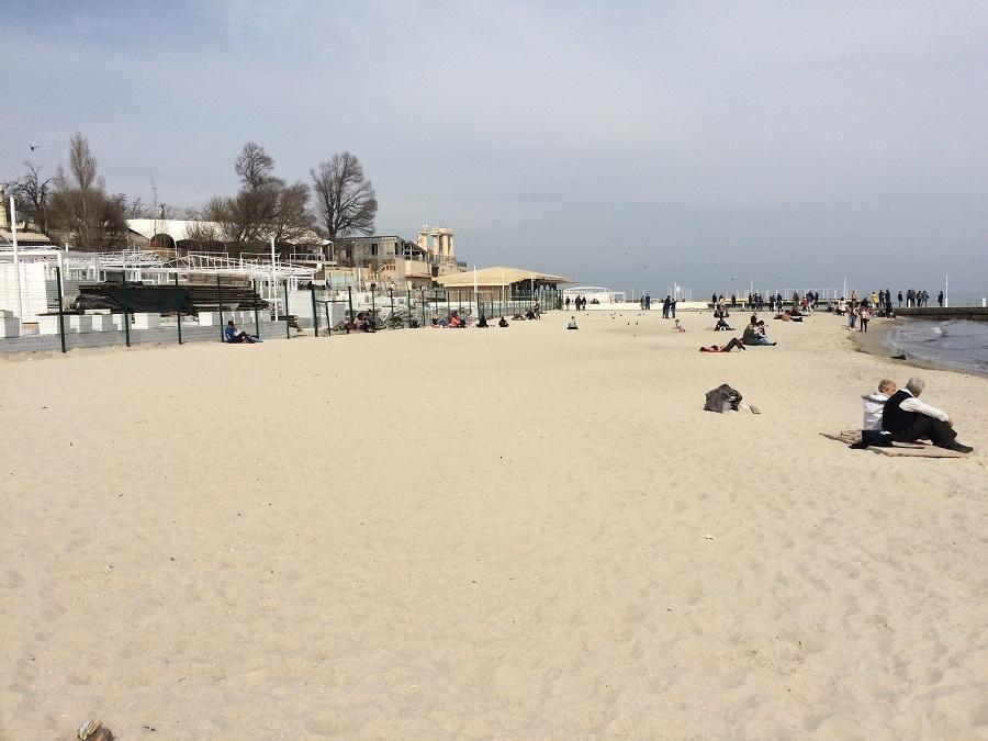 аркадия пляж