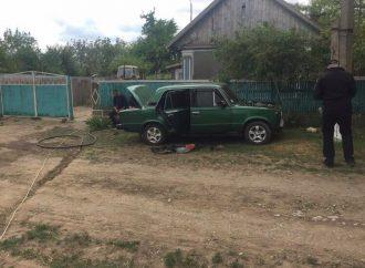 В горящем автомобиле на юге Одесской области погибла девочка