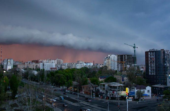 Шторм надвигается на Одессу: гроза начнётся в ближайшие часы