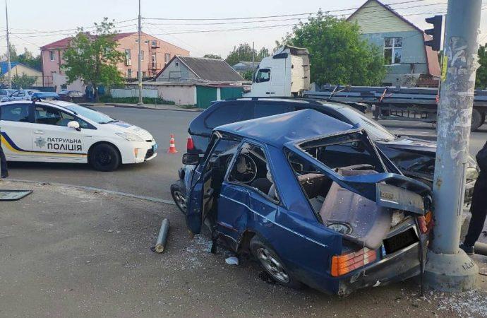 ДТП на Рихтера в Одессе: водителя доставили в больницу