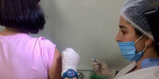 За вакцинацию: одесские врачи прошли ревакцинацию от дифтерии и столбняка