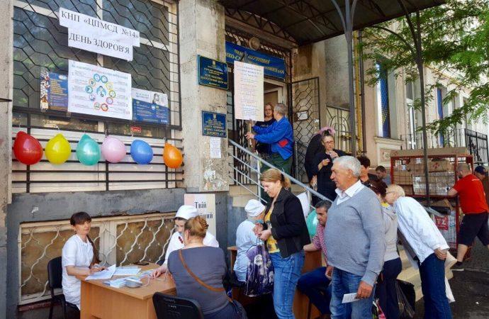 """«Дни профилактики гипертонии» в Одессе: пройти быстрое обследование можно просто """"на ходу"""""""