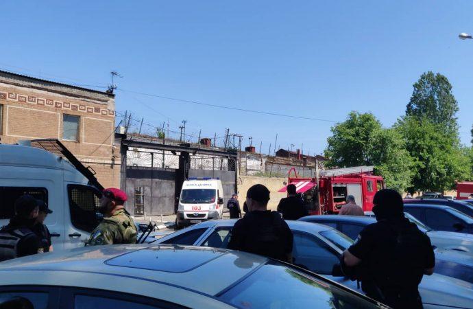 ЧП в одесской колонии: бунт, пожар и массовый побег заключенных