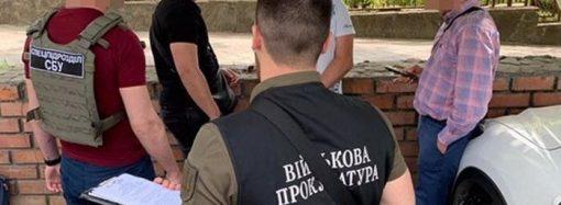 СБУ задержала в Одессе райвоенкома, который торговал «белыми билетами» по 500 долларов