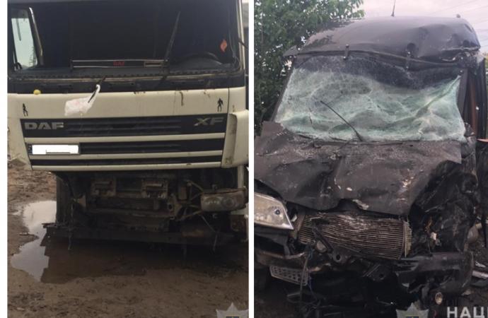 Авария под Одессой: четыре человека в больнице