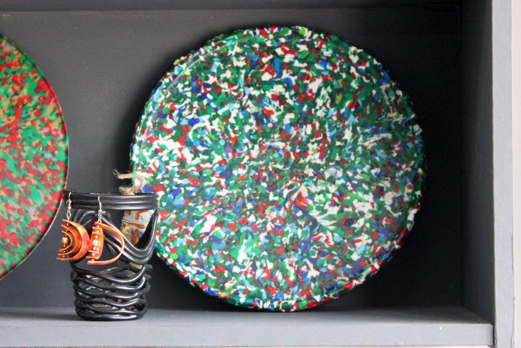 пластик крышечки