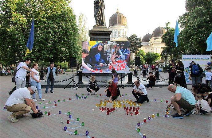 Одесситы присоединились к митингу-реквиему памяти жертв депортации крымских татар