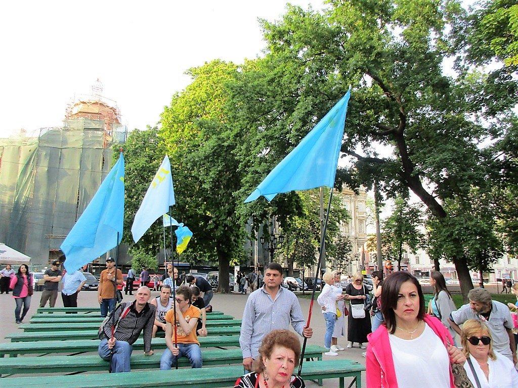 реквием крымских татар в одессе