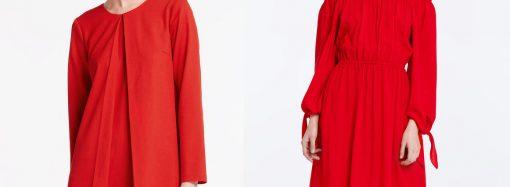 Красные женские платья