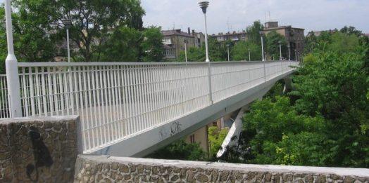 Полувековая традиция: студенты-физики раскачивали Тёщин мост