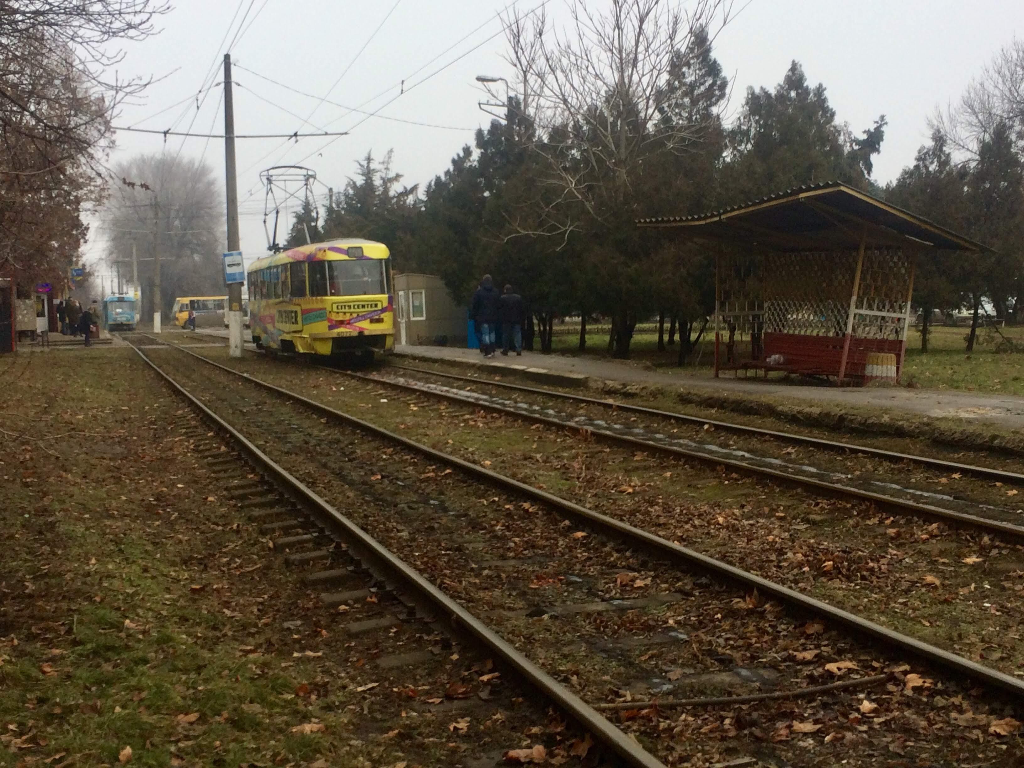 трамвай север-юг