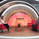 Жан Беленюк в программе «Утро с «Интером»