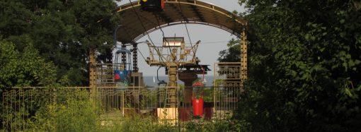 Во время карантина в Одессе заработала канатная дорога