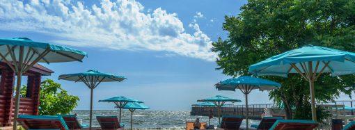 Райский берег в центре Одессы – пляж Отрада