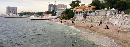 Аркадия: курортный сезон начался, а пляж еще не готов
