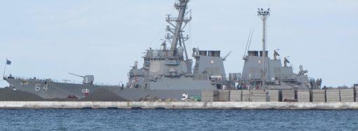 «Си-Бриз»: американские корабли уже в Одесском заливе, но прячутся от любопытных глаз