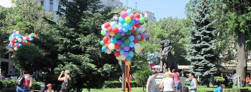 Исторический центр Одессы превратился в Территорию детства