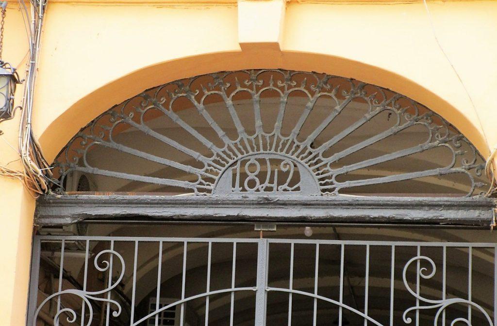 Дерибасовская аутентичные ворота с датами