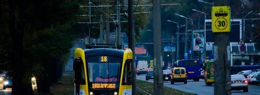 Добраться с вокзала на Большой Фонтан на трамвае теперь можно круглосуточно