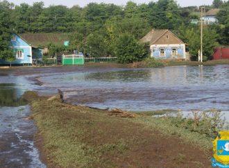 Сильный ливень вызвал подтопления в селах Арцизского района